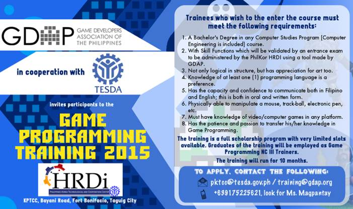 free game programming philippines