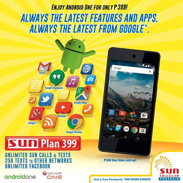 sun plan 399 cherry mobile one