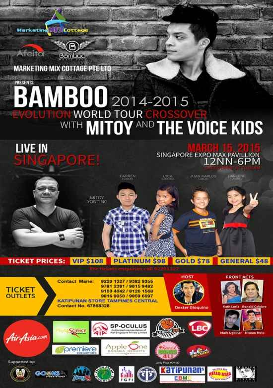 bamboo live in singapore march 2015