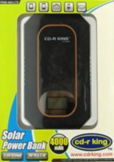 cdr king solar power bank