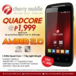 Cherry Mobile Amber 2 Price Drop, Sells at P1999