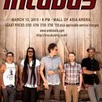 Incubus Live in Manila March 2015, Ticket Price, Venue