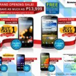 Lenovo Mobile Philippines Buy 1 Take 1 Promo March 2015