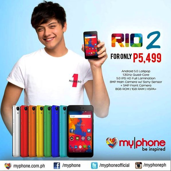 myphone rio 2 price specs