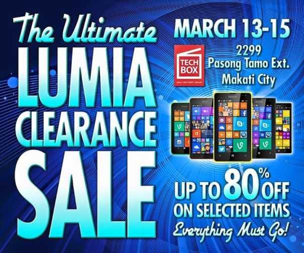 techbox nokia lumia sale march 2015