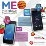 Cherry Mobile Me and Me Fun 4-Day Sale, Priced at P1999 Each