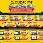 Cloudfone holds Thank You Sale, offers discount on Smartphones and Tablets