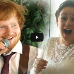 Ed Sheeran sings Thinking Out Loud on Newlyweds First Dance, Watch his Performance Video