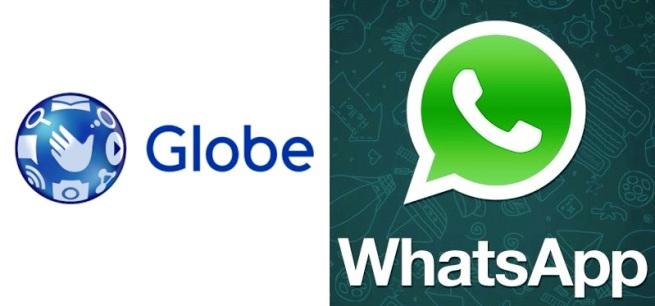 globe free whatsapp
