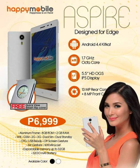 happy mobile aspire price