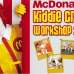 McDonalds Kiddie Crew Summer Workshop 2015, Schedule, Participating Stores