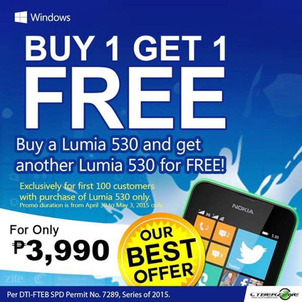 nokia lumia 530 buy 1 take 1