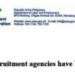 POEA Accredited Agencies for New Zealand, Apply only to these Agencies