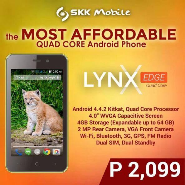 skk mobile lynx edge price