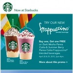 Starbucks Philippines Buy 1 Take 1 Frappuccino Promo April 2015