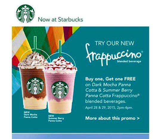 starbucks ph buy 1 take 1 april 2015