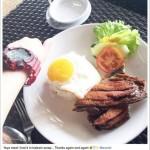 Rufa Mae Quinto shares Balesin Yaya's Meal Photo on Instagram
