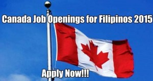 Canada Jobs for Filipinos 2015, Available Positions, and Accredited Recruitment Agency Lists
