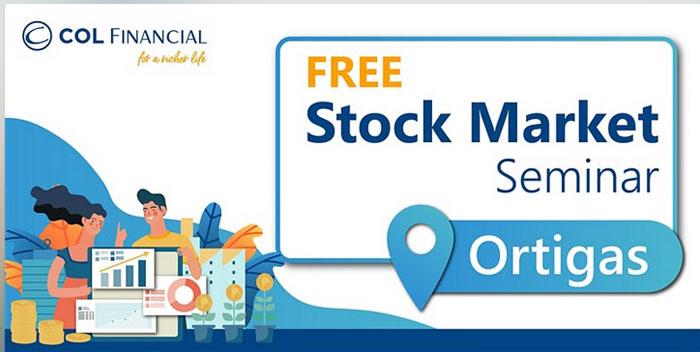 free stock market seminar philippines at col financial
