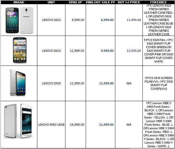 lenovo gadget sale may 2015