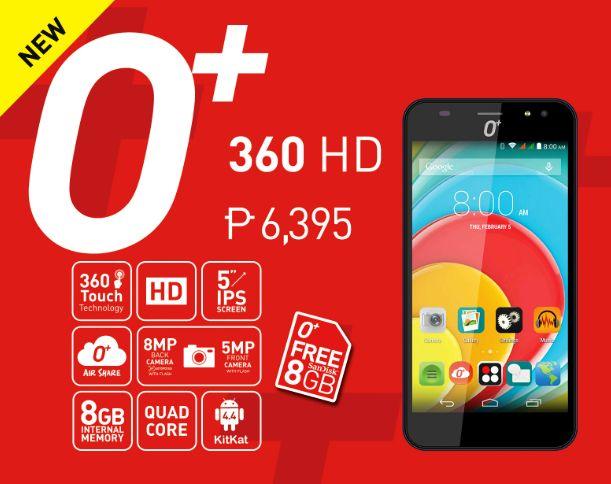 o+ 360 HD price
