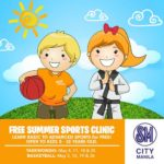 SM City Manila Free Summer Sports Clinic May 2015, Enrollment Requirements