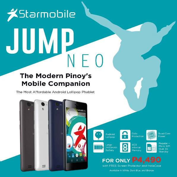 starmobile jump neo phablet