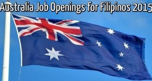 Australia Job Openings for Filipinos 2015, Accredited Agency List