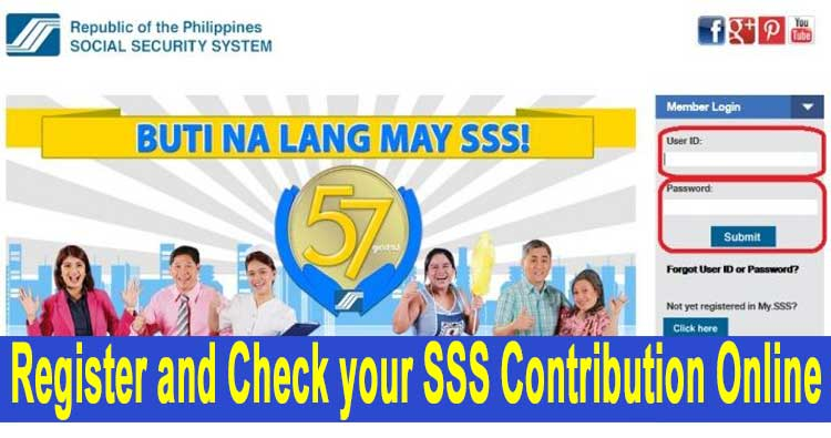 SSS Online Registration and Steps to Check SSS Your