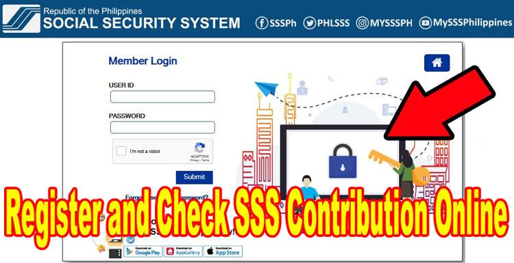 sss gov ph online portal login