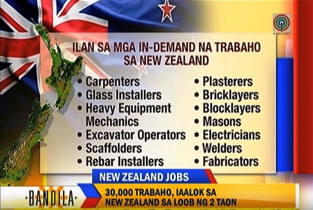 in demand jobs in new zealand filipinos