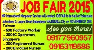 MIP International Manpower Services, Job Openings, POEA Accreditation Status