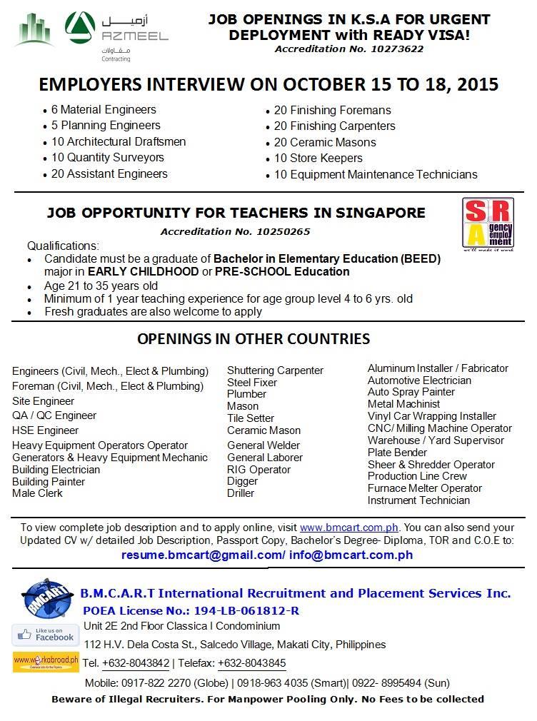 bmcart SG jobs