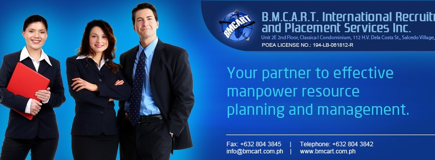 bmcart international recruitment