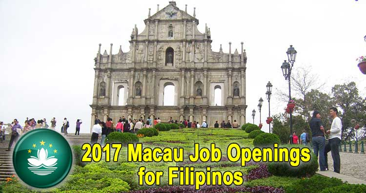 filipinos in macau Filipino bartender hiring in macau october 22, 2017 by janice a number of agencies licensed by the philippine overseas employment administration (poea) have posted hundreds of job vacancies every day.