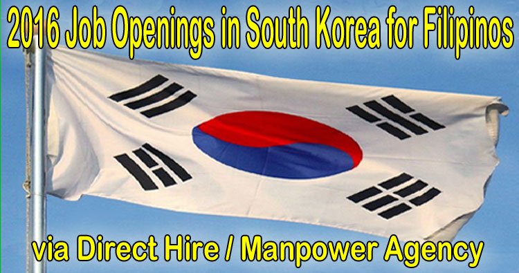 Jobs In South Korea For Filipinos 2016 Via Eps Topik And