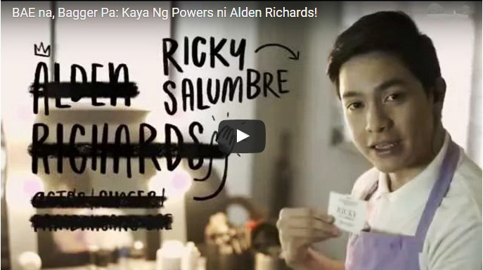 alden richards bagger boy yazz card