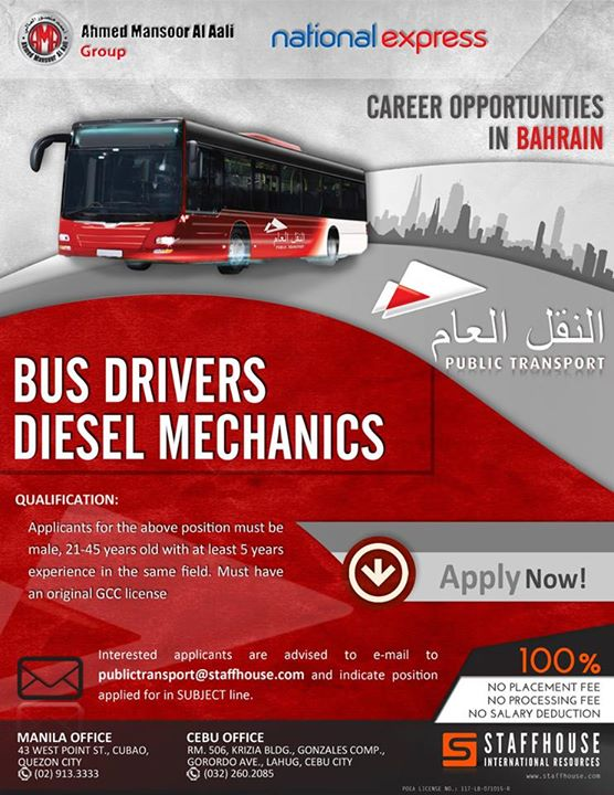 bahrain jobs stafhouse