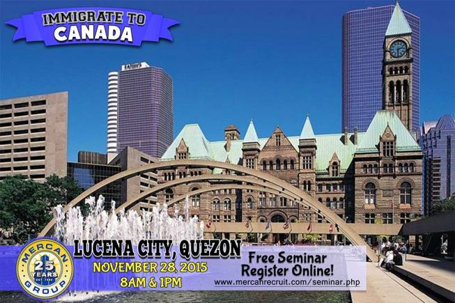 Mercan Recruit Job Openings Canada Immigration Seminar Schedule Poea License Status