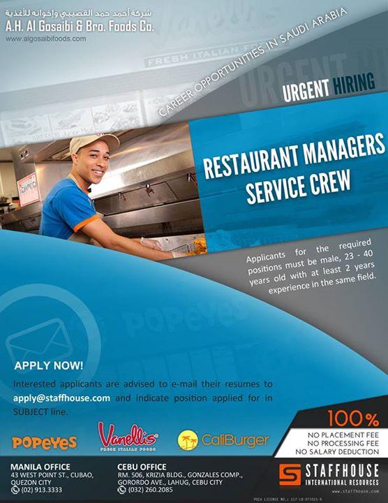 saudi arabia jobs staffhouse 5