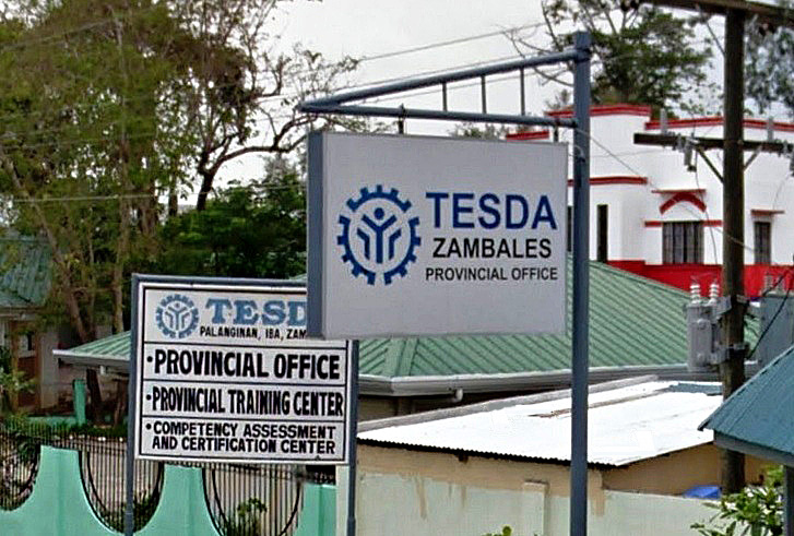 tesda zambales courses and schools