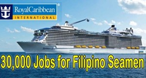 Royal Caribbean Cruises has 30,000 Job Openings for Filipino Seamen, Job Lists, and How to Apply 2016 (Video)