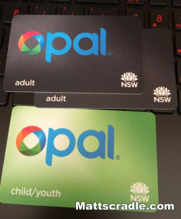 opal card new south wales australia