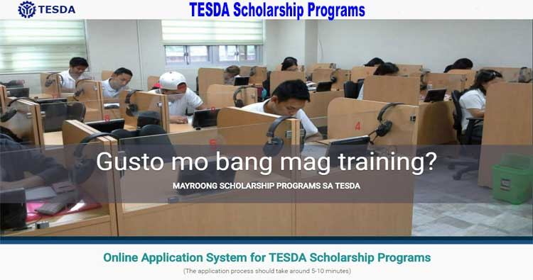 TESDA offers Skills Training and Scholarship Programs 2019