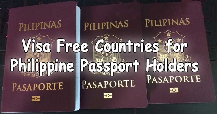 visa free countries for philippine passport