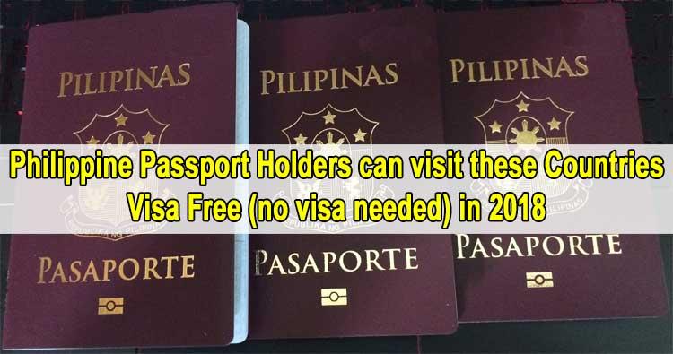visa free countries for filipinos