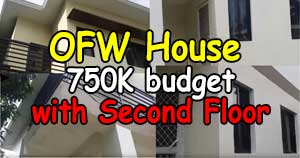 ofw house with second floor