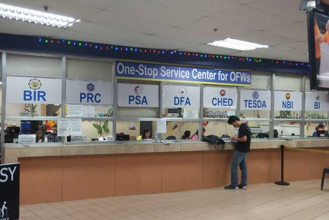 prc office in ossco poea