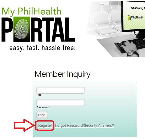 register online your philhealth number