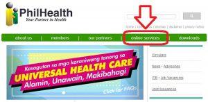 philhealth online registration step one